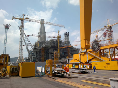Adrison BV - Heavy-Lifting DSME-Korea